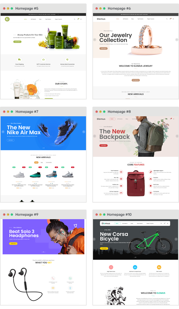 shopify theme single product stroller