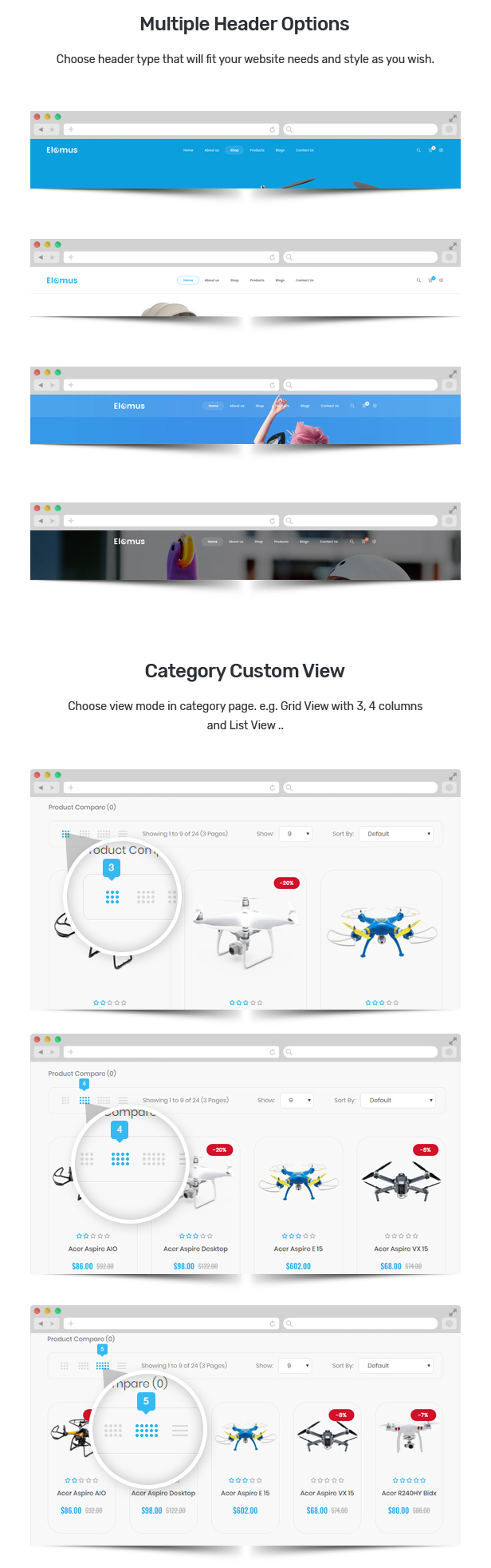 one product shopify