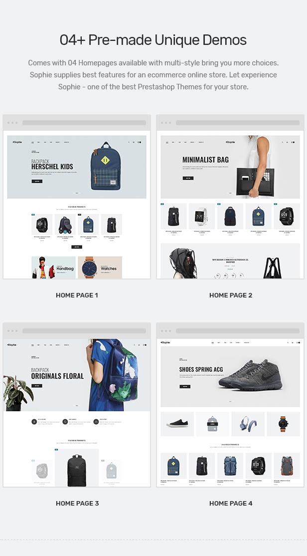 Backpacks Shopify Theme