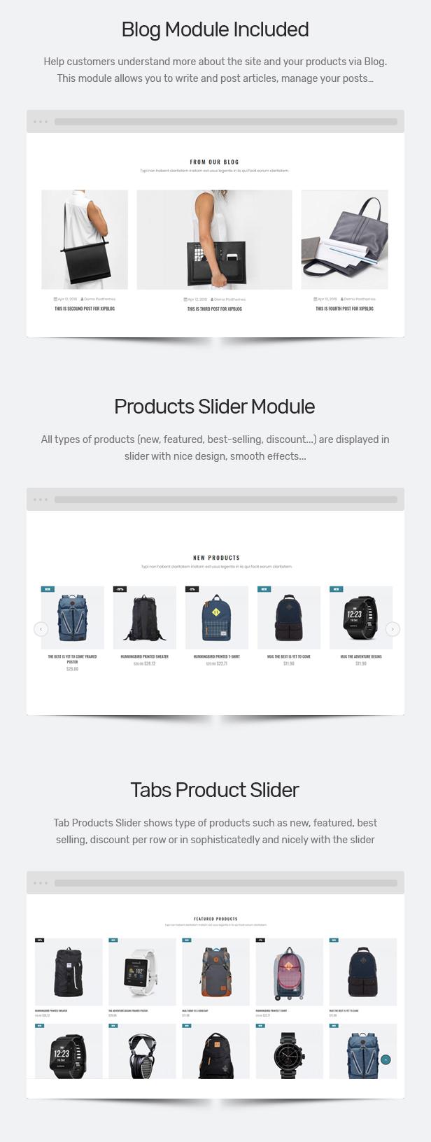 Wallets Shopify Theme